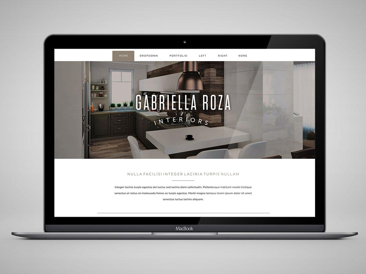 Roza Gabriella weblap készítés