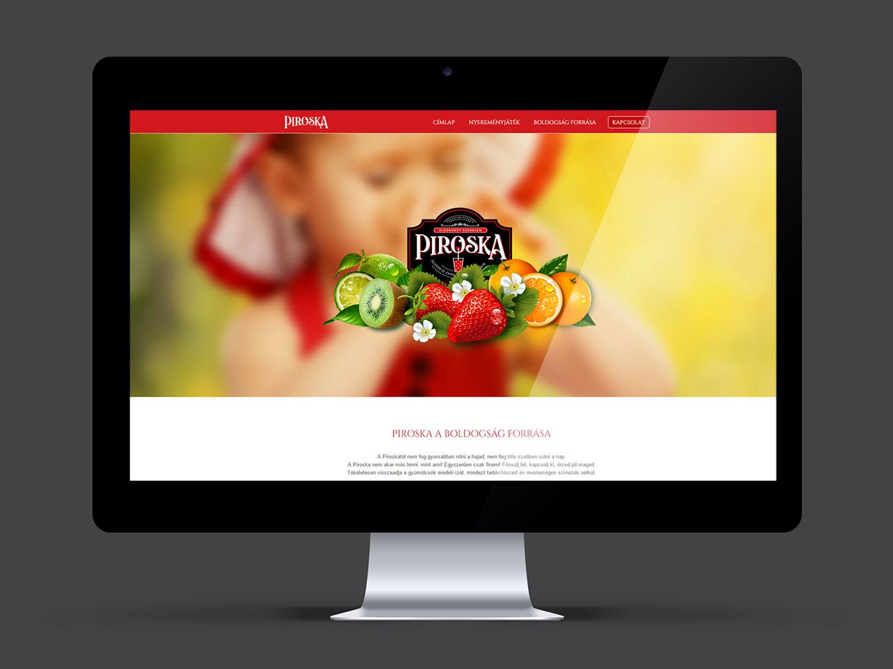 Piroska Weblap fejlesztés