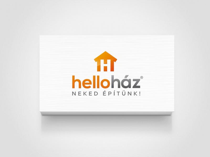 HelloHáz névjegy grafika